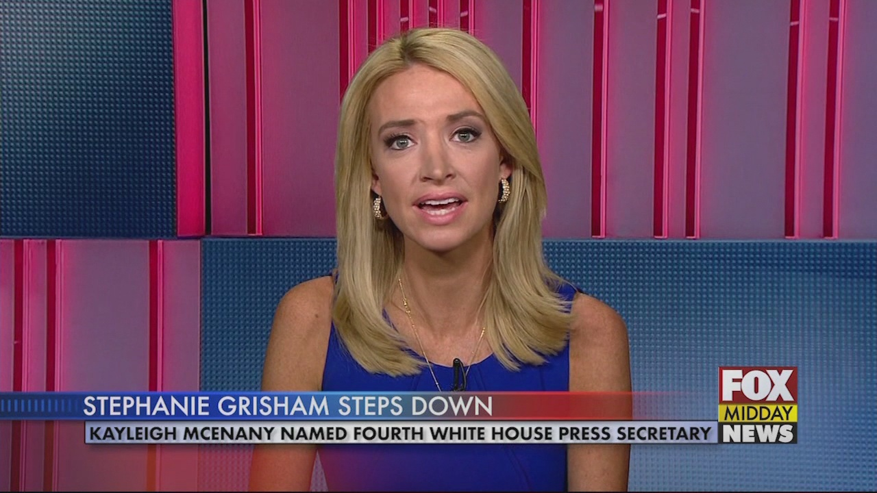 Kayleigh Mcenany Named Fourth White House Press Secretary Wfxb