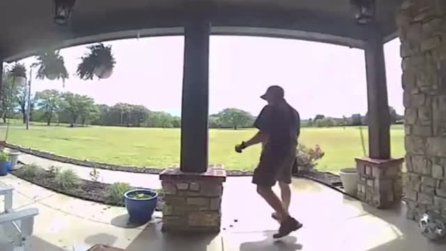 Ok: Ups Driver Stops To Fix American Flag