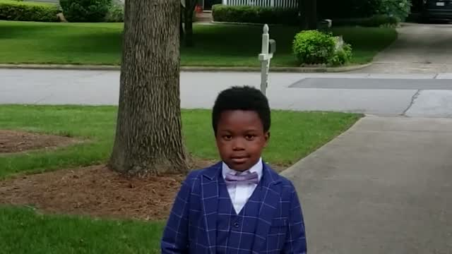 Nc: Covid: 7 Year Old Holds Prom For His Nanny