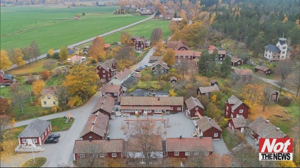 Village In Sweden