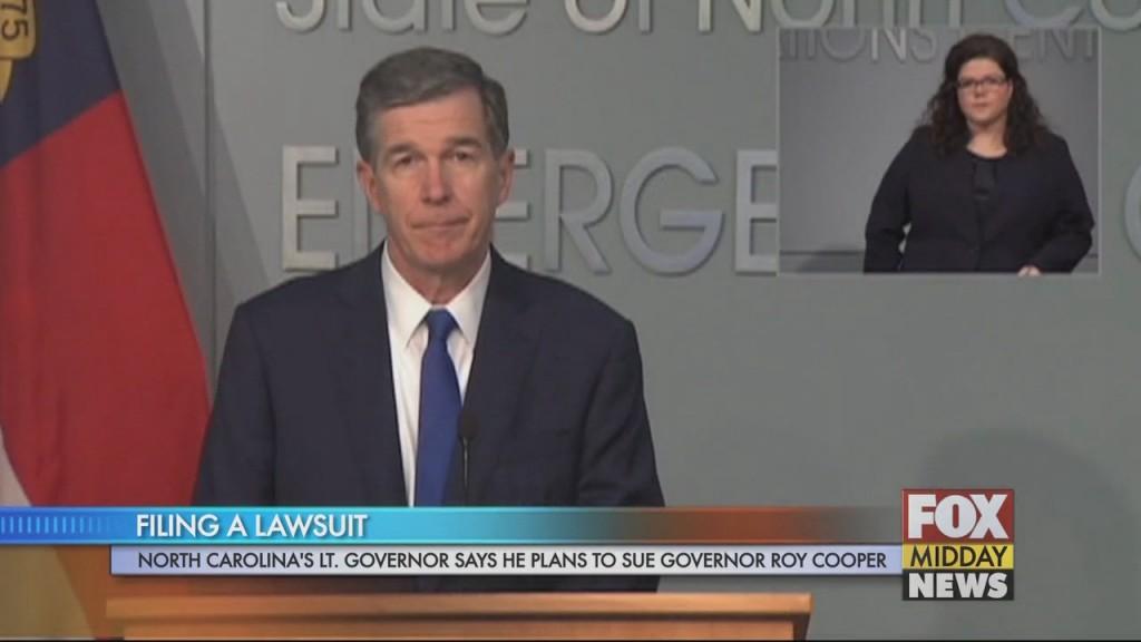 Roy Cooper Lawsuit