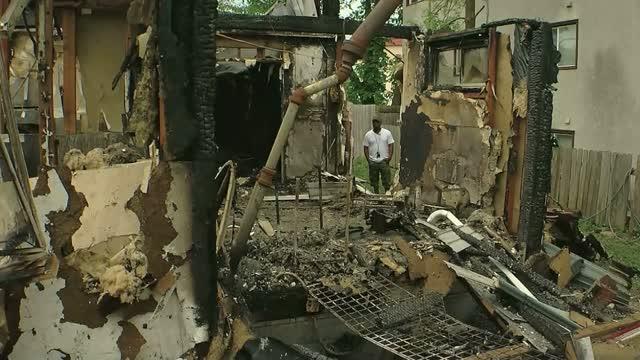 Mn: Gofundme Dispute: Burned Small Business