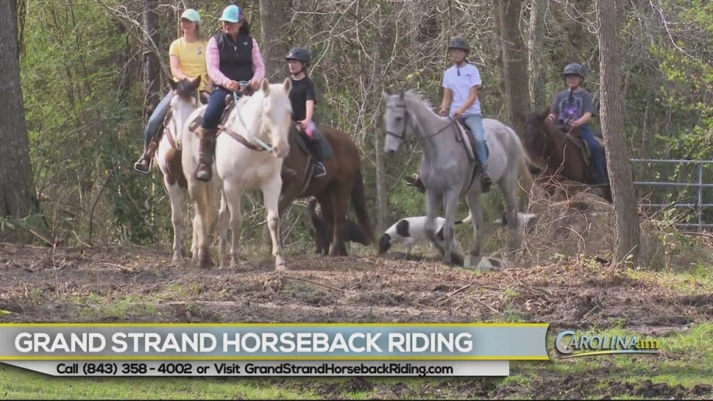Grand Strand Horseback Riding 070820