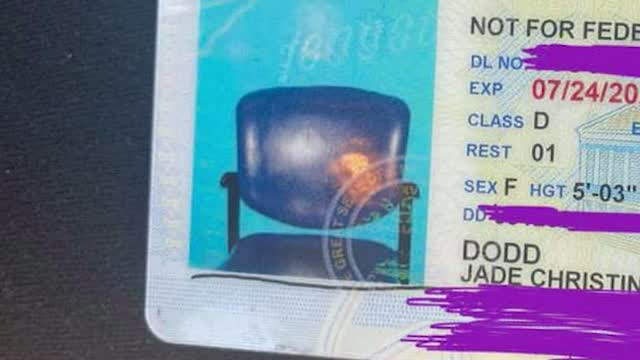 Tn: Woman Gets Id With Picture Of Empty Chair