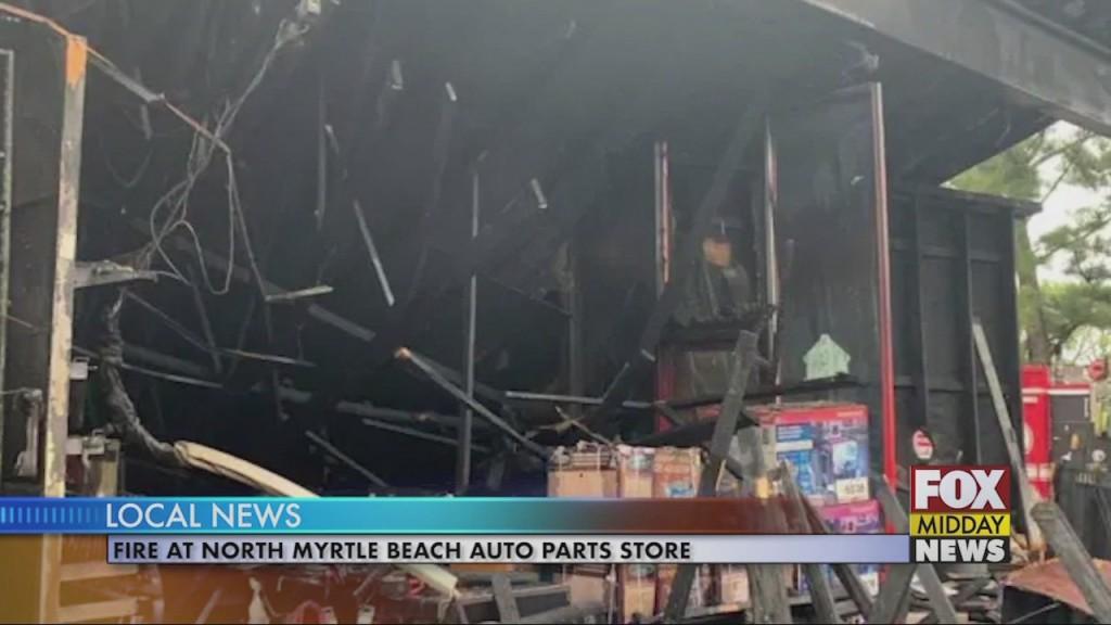 Auto Store Fire