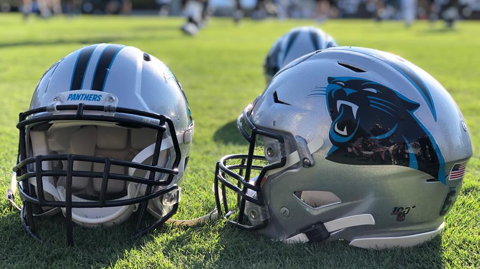 Panthers Helmet 2 6904
