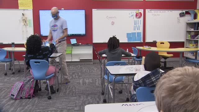 Nc: 8,000 Students Return To In Person Learning