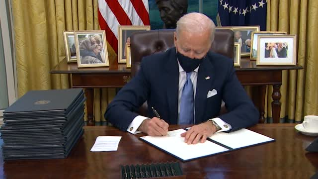 Biden Ushers In New Political Climate