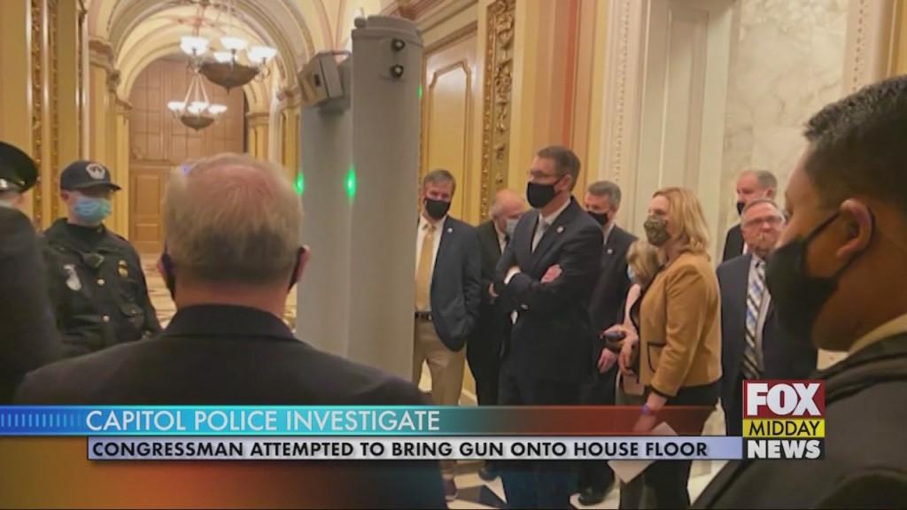 Gun On Floor