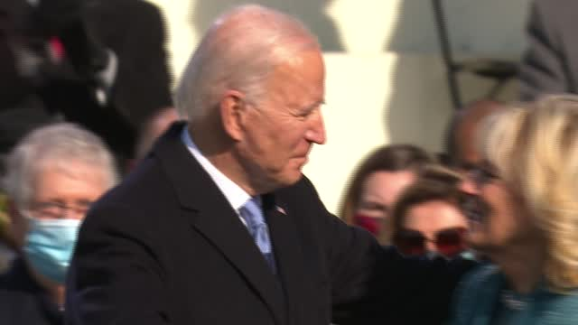 Biden To Confront Covid On First Full Day