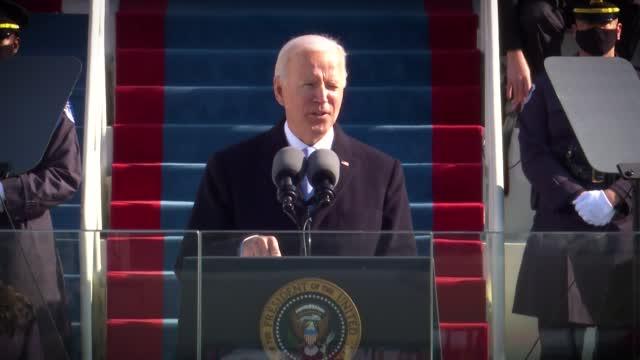 "President Biden Pledges To ""restore The Soul"" Of America"