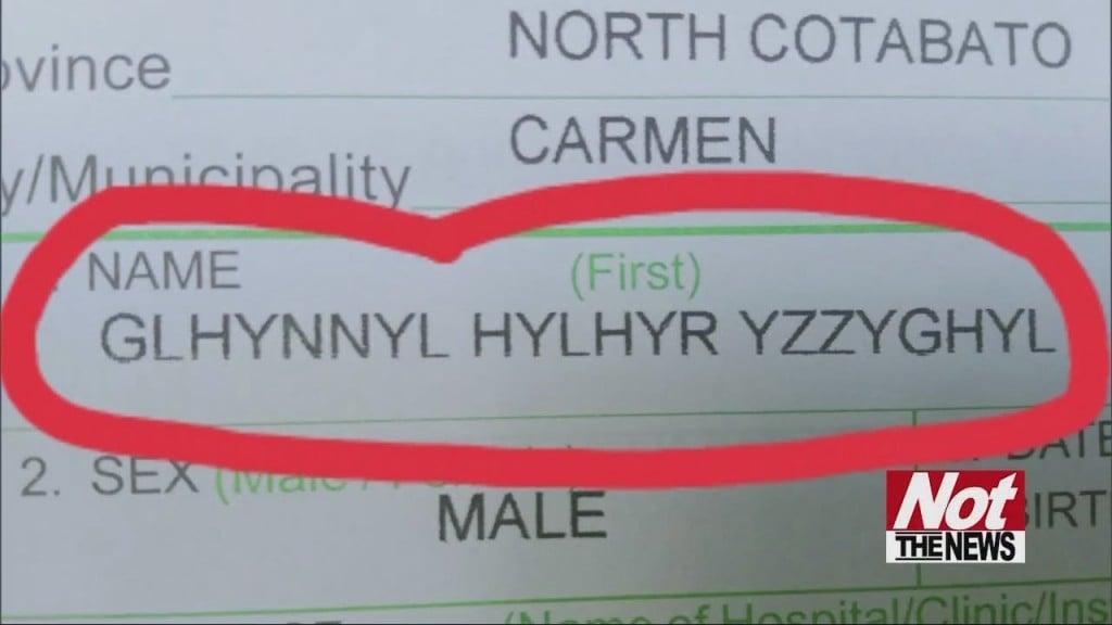 Weird Name
