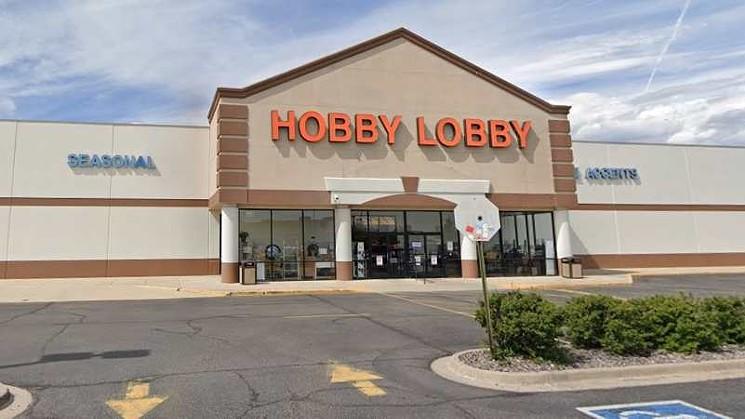 Hobby.lobby.wadsworth.google.maps