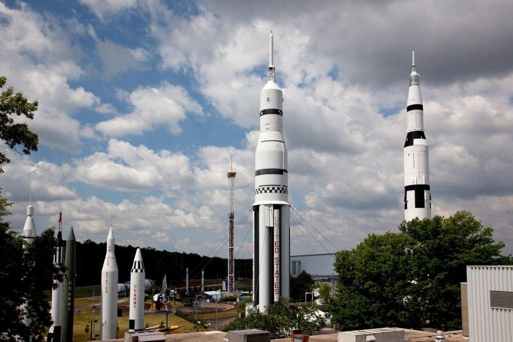 The U.s. Space Rocket Center, Huntsville, Alabama