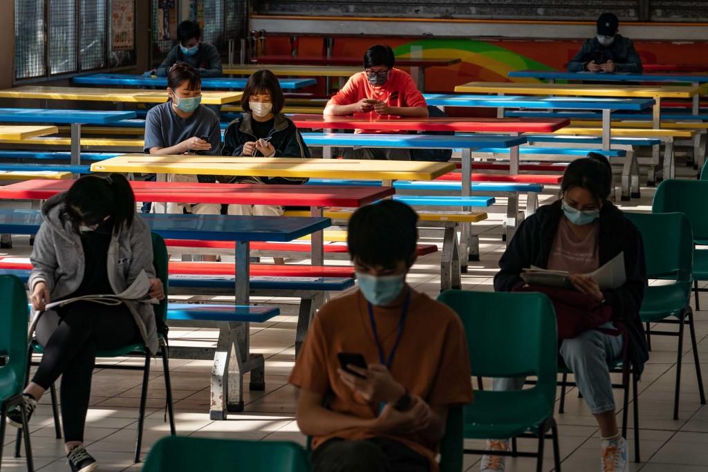 Hong Kong Students Sit For Public Exam Amid The Coronavirus Pandemic
