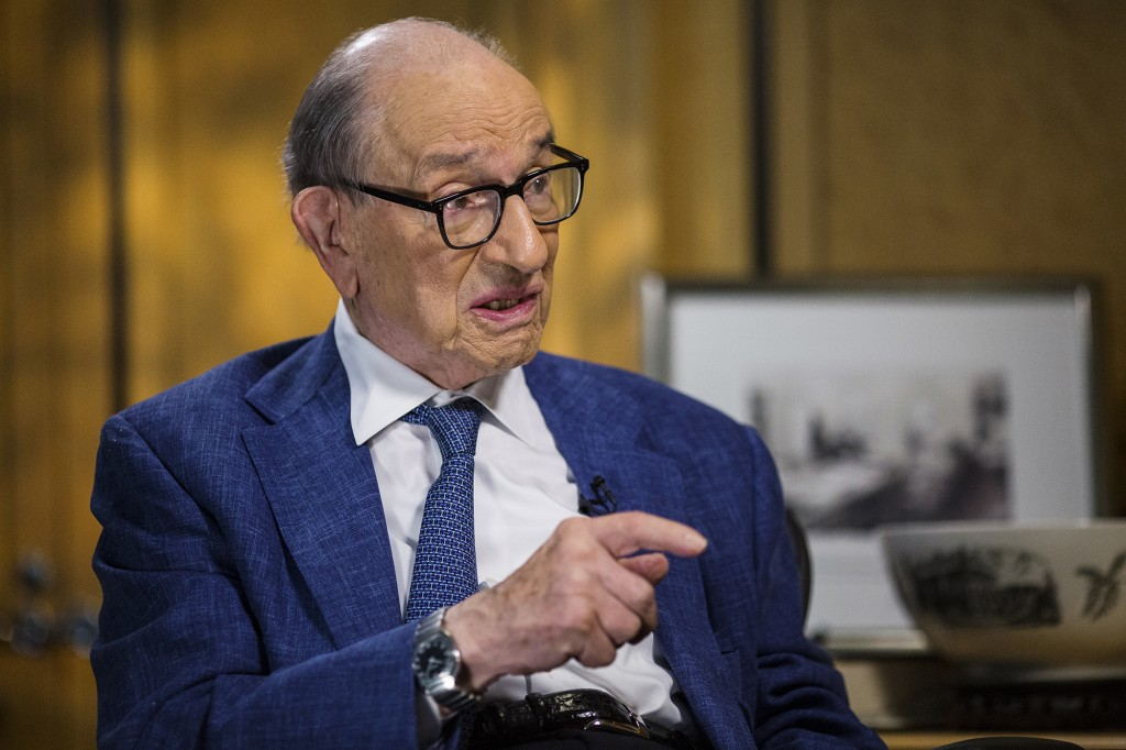 Federal Reserve System Former Chairman Alan Greenspan Interview