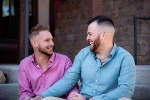 They Matched On Tinder A Year Ago. Then His Boyfriend Gave Him A Ring — And A Kidney