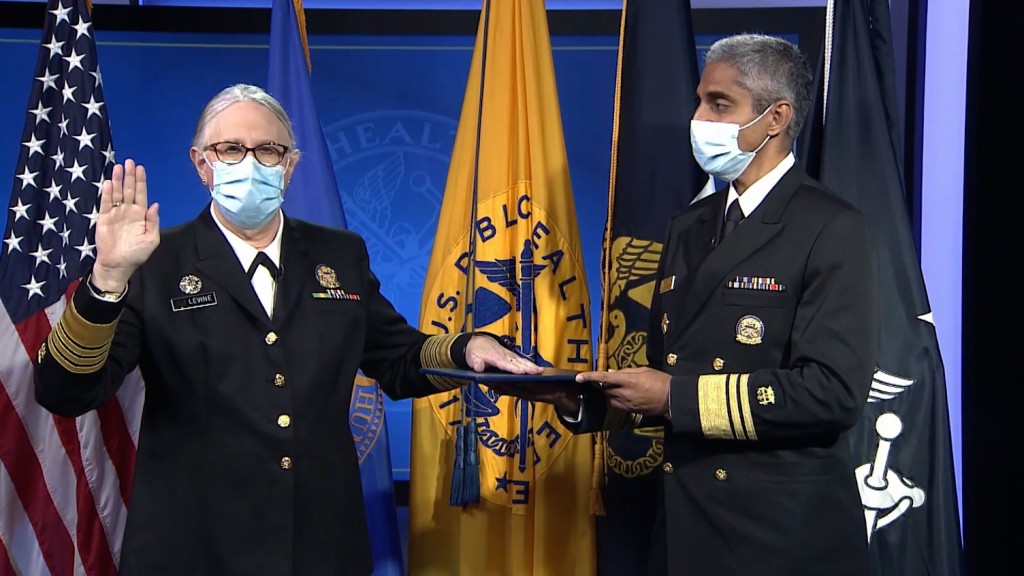 Hhs' Dr. Rachel Levine Sworn In As Us' First Openly Transgender Four Star Officer
