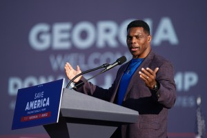Herschel Walker Cancels Fundraiser With Supporter Who Had Swastika Shaped Image In Twitter Profile