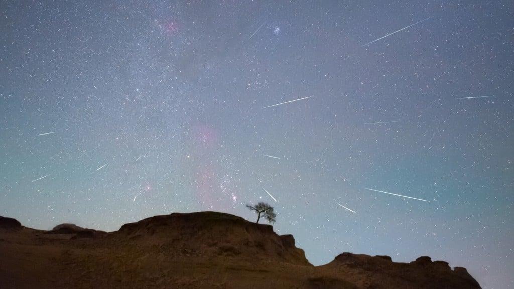 October Night Skies Bring Full Moon And Meteor Shower