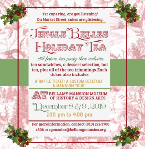 Jingle Belles Holiday Tea - 2 dates @ Bellamy Mansion Museum | Wilmington | North Carolina | United States