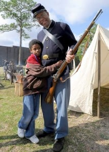LIVING HISTORY: Battle of Forks Road and the Fight for Freedom @ Cameron Art Museum | Wilmington | North Carolina | United States