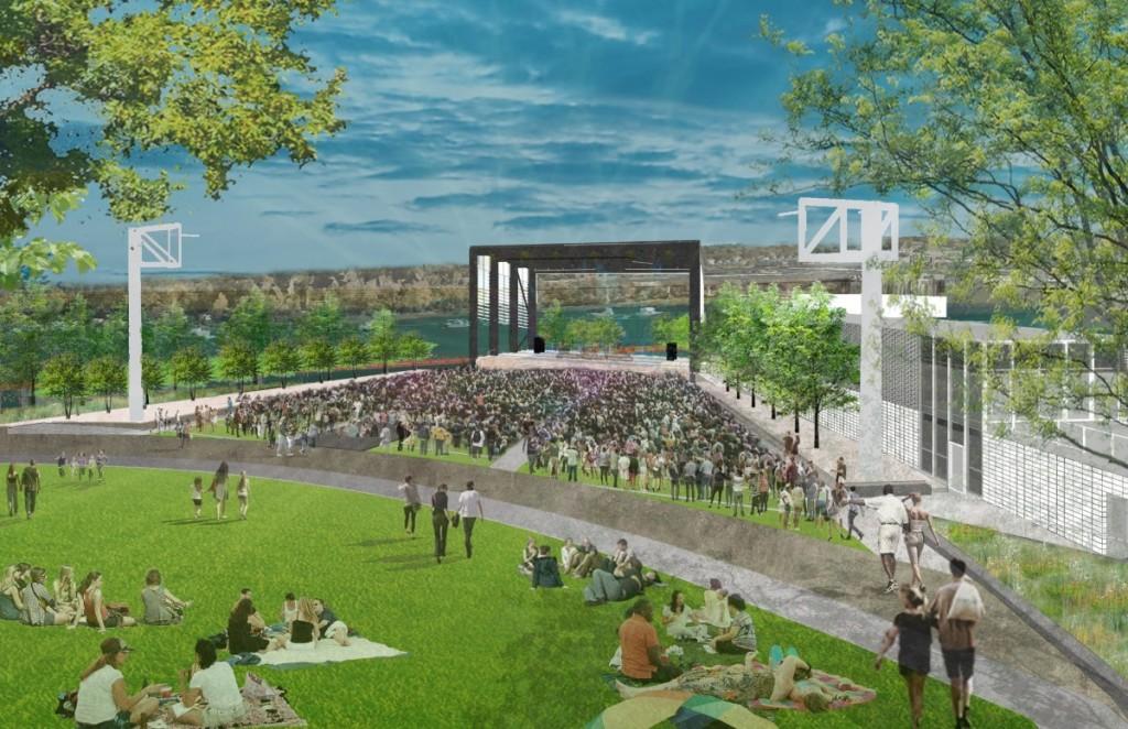 Riverfrontpark Story