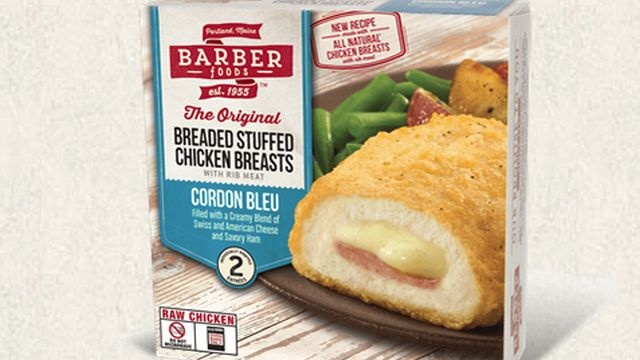 Barber Foods Recalls Stuffed Chicken Products For Potential