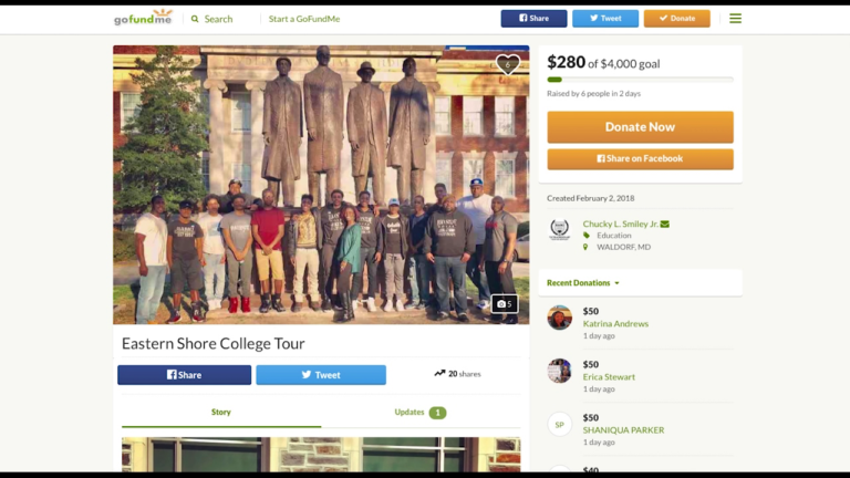 GoFundMe aims to raise funds to take Eastern Shore teens on