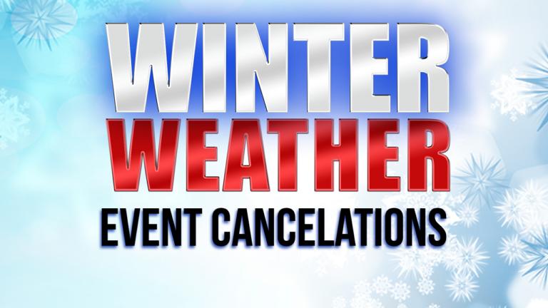 Delmarva event cancellations due to winter weather - 47abc