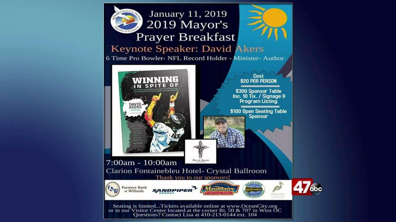 National Prayer Breakfast >> Local Prayer Breakfast welcomes NFL guest speaker - 47abc