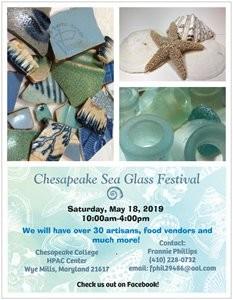 Chesapeake Sea Glass Festival @ Chesapeake College | Wye Mills | Maryland | United States