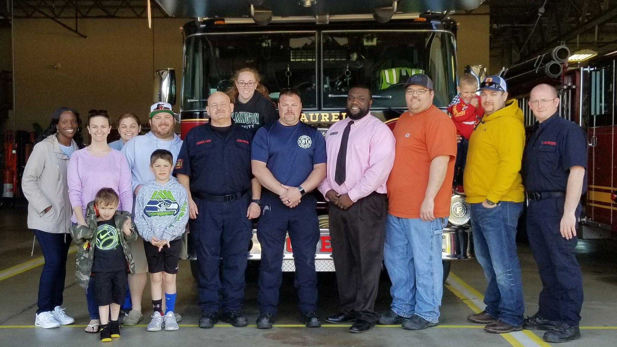 Laurel Little League helps first responders after EF-2