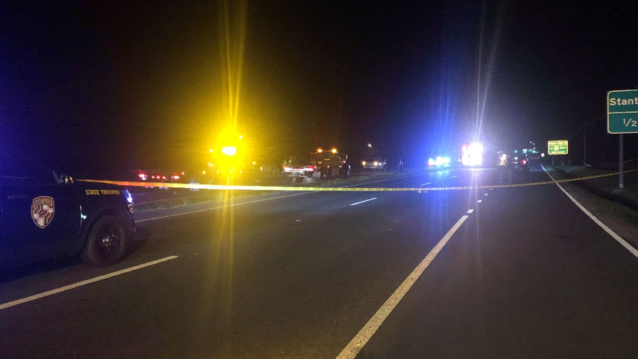 Two dead, five others injured in 3 vehicle crash on Route 50