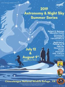 Astronomy & Night Sky Summer Series @ Chincoteague National Wildlife Refuge   Chincoteague   Virginia   United States