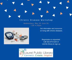 Chronic Disease Management Workshop @ Laurel Public Library | Laurel | Delaware | United States