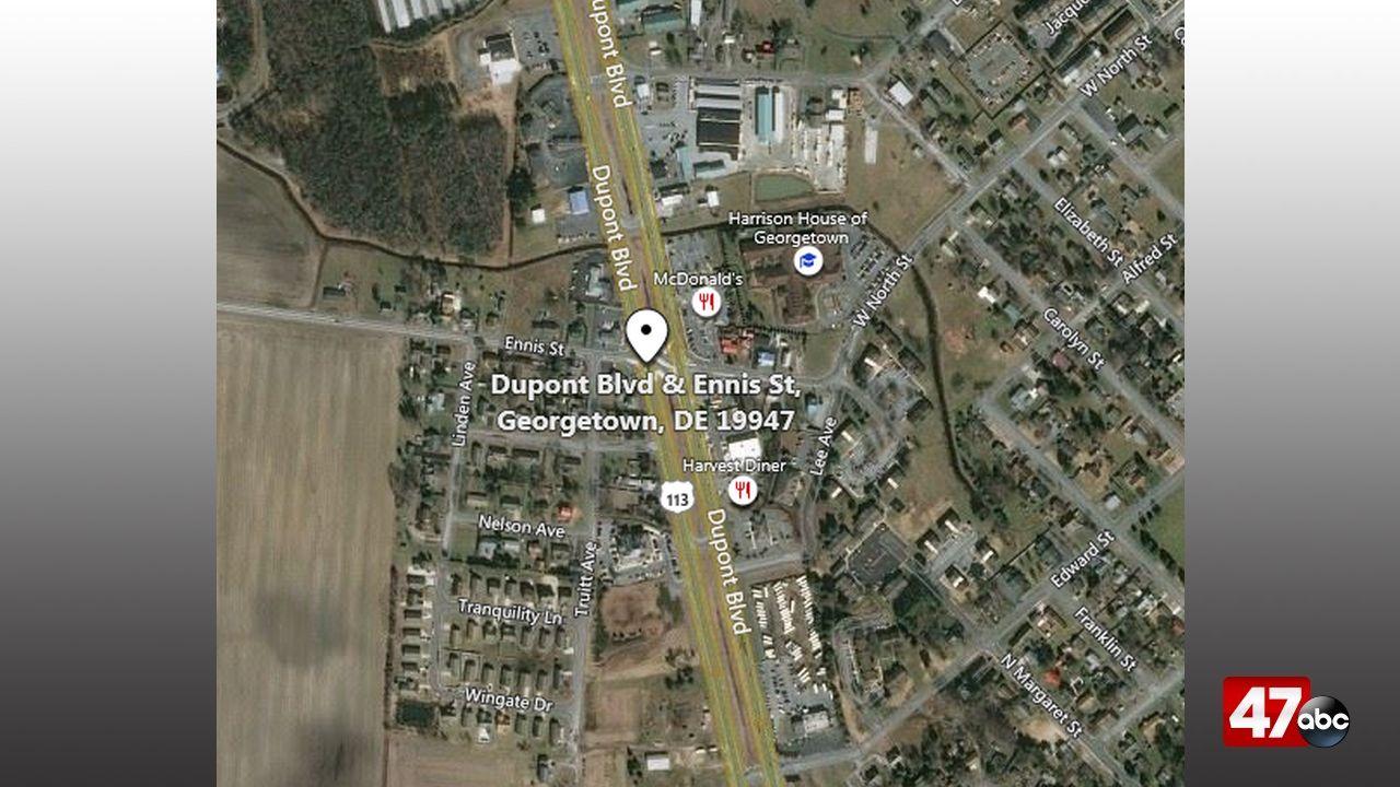 DSP investigating fatal pedestrian crash in Georgetown - 47abc