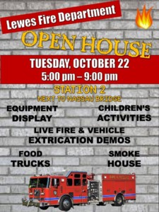 Lewes Fire Department 1st Annual Fire Prevention Open House @ Station 2