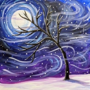 Daytime Paint Afternoon: Winter Scene @ MAC Inc.