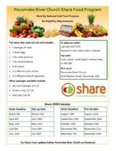 Share Food Program @ Pocomoke River Church