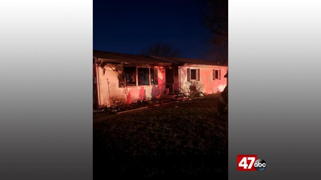 1280 Stevensville House Fire New