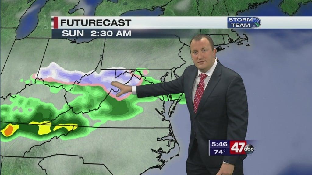 Evening Forecast Video 3.13.20