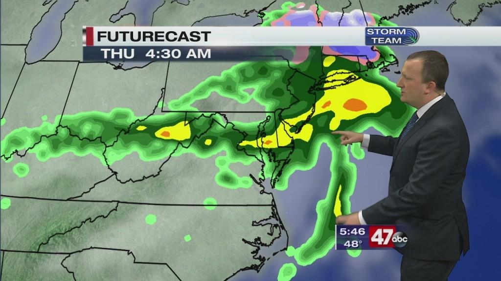 Evening Forecast Video 3.16.20