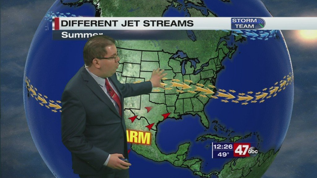 Weather Tidbits: Seasonal Jet Stream 3.24.20