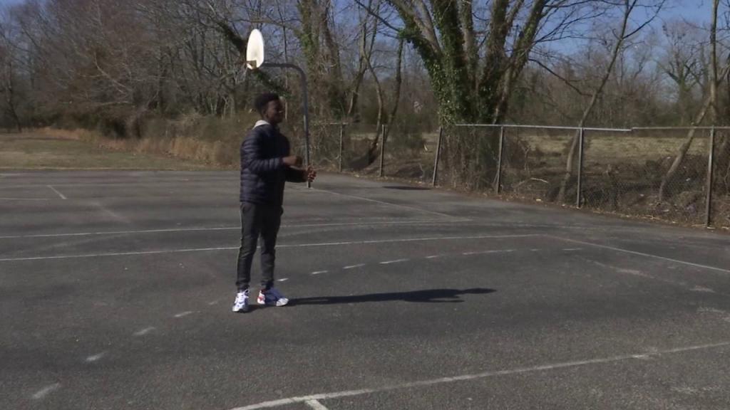 Pocomoke Middle Basketball Court