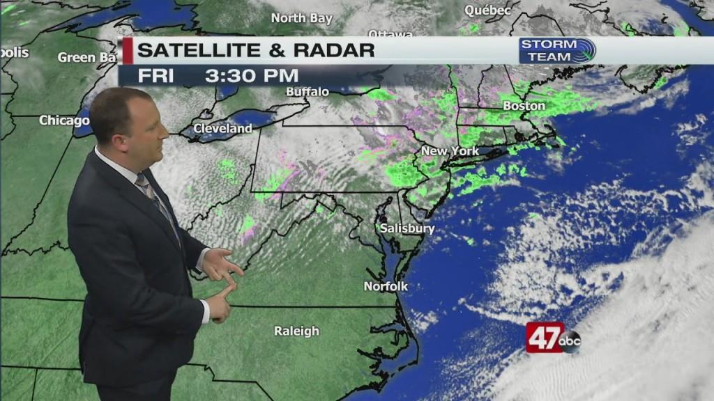 Evening Forecast Video 4.10.20