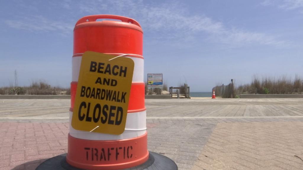 Beach And Boardwalk Closed