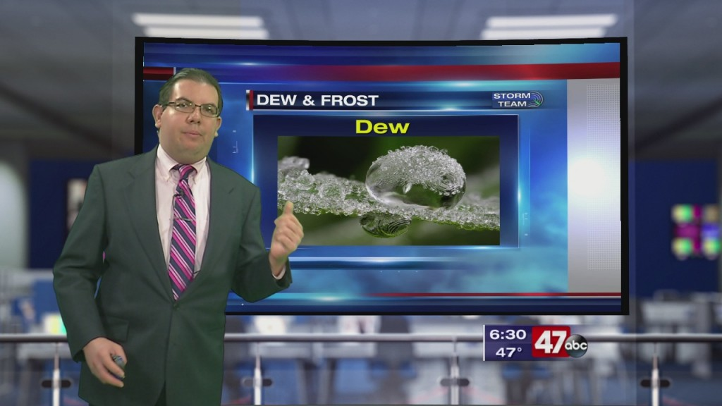Weather Tidbits: Dew & Frost
