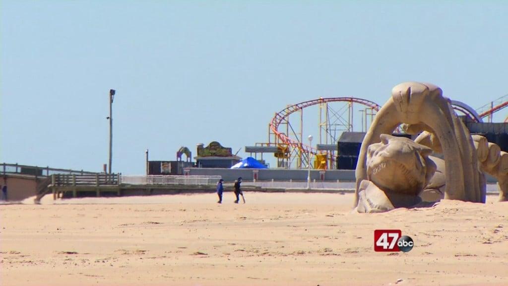 Ocean City Beach Reopening