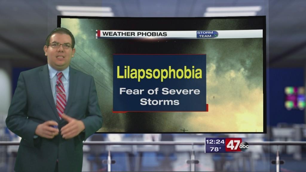 Weather Tidbits: Weather Phobias